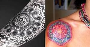 21 Fantastic Mandala Tattoos