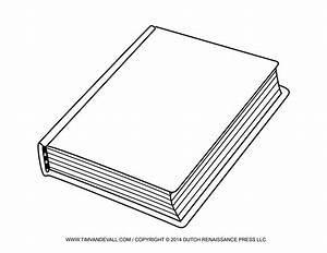 Book Cover Black And White Clipart - Clipart Suggest