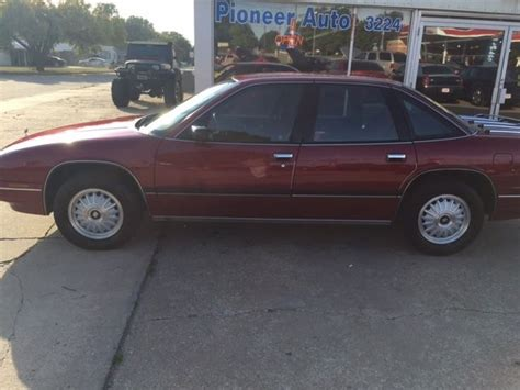 4 Door Buick Regal by 1992 Buick Regal Custom Sedan 4 Door 3 8l For Sale In