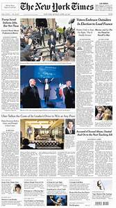 The New York Times — April 24, 2017 PDF download free