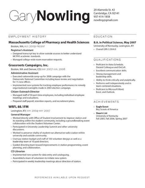 Standard Cv Layout by Resume Design Resume Design Layouts Resume Design