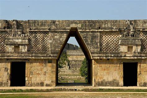 Mayan Corbelled Arch, Uxmal, Mexico Via