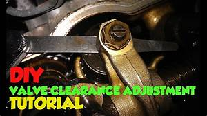 Diy Valve Clearance Adjustment Tutorial Toyota Hilux  Surf