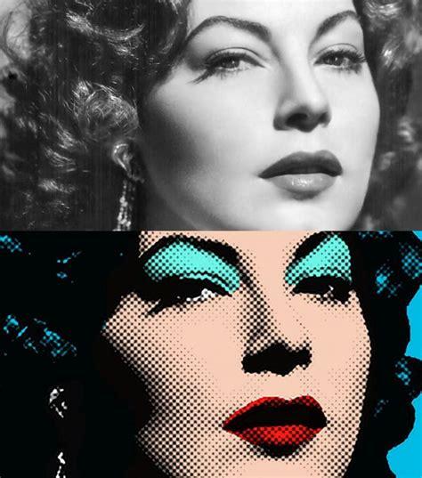 learn     pop art portrait   photo