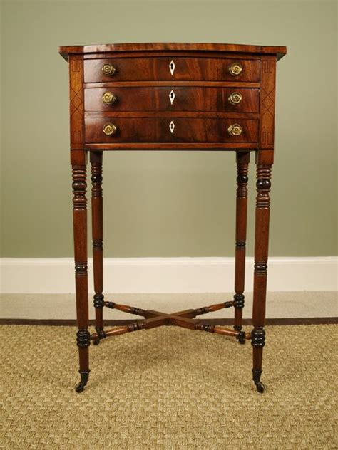 small antique side tables a small regency mahogany side table antiques atlas 5346
