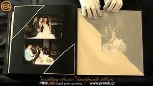 handmade wedding album quotwedding classicquot created With wedding album printing