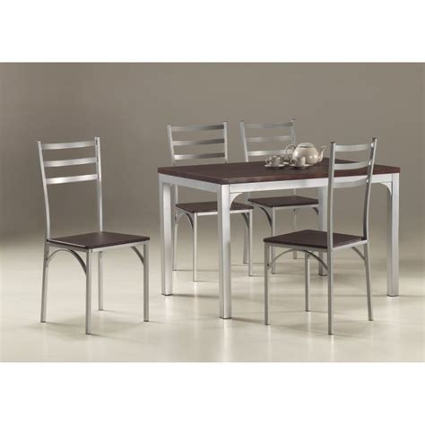 ensemble table et chaise de cuisine ensemble table de cuisine et 4 chaises loire achat