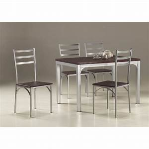Ensemble Table Et Chaise Cuisine : ensemble table de cuisine et 4 chaises loire achat vente table de cuisine ensemble table de ~ Melissatoandfro.com Idées de Décoration