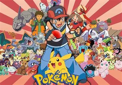 Pokemon Wallpapers Desktop Background Anime Series Satoshi