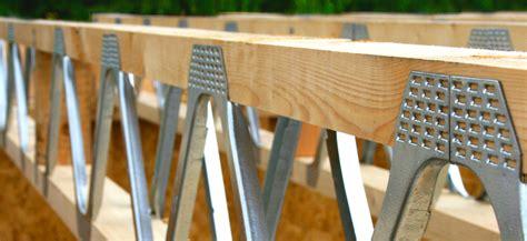 timber floor joists  metal web floor joists