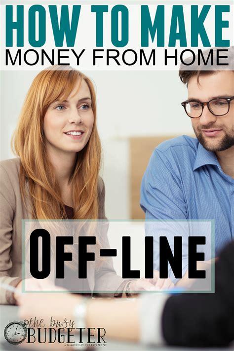 money  home offline   business