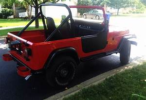 1989 Jeep Wrangler Sahara 5 Speed Manual 40 K On Rebuilt