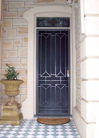 security doors adelaide heritage  modern security