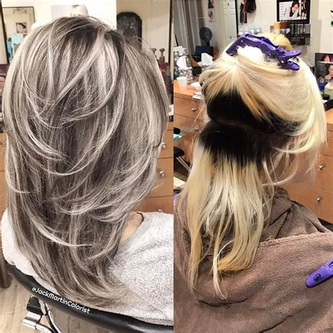 dark roots light ends technique 25 best ideas about blonde with dark roots on pinterest