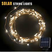 Outdoor Party Lights Walmart by BetterHome 120 LEDs Outdoor Solar Powered LED String Lights 19ft Waterproof C