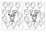 Colors Worksheets Coloring Pages Activities Fun Esl English Trapeze Islcollective Activity Printable Worksheet Colours Teaching Learning Balloons Writing Code Clown sketch template
