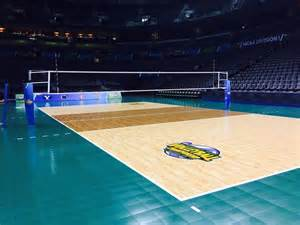 NCAA Volleyball Court