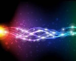 Abstract Neon Vector Art