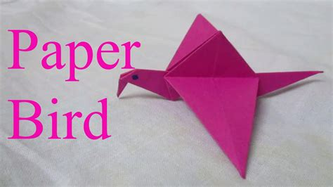 origami bird     easy origami bird step