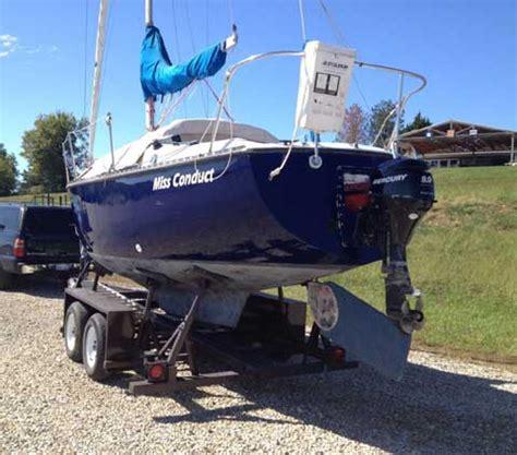 Perry Lake Kansas Boat Rental by Chrysler 26 1979 Lake Perry Kansas Sailboat For Sale
