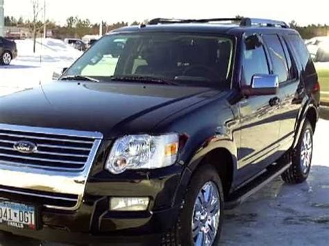 ford explorer limited youtube