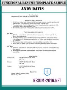 format on writing resume functional resume format 2016 how to highlight skills