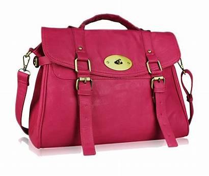 Bag Transparent Clipart Background Purse Pink Clip
