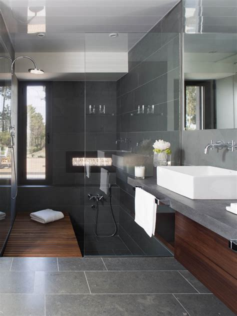 Modern Bathroom Gray by Design Inspiration Modern Bathroom Gray Studio