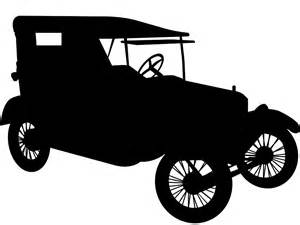 Ford Model T Car Silhouette