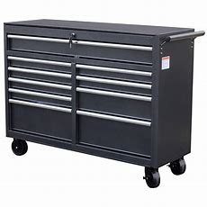 Wen 52 In 10drawer Tool Cabinet74560  The Home Depot