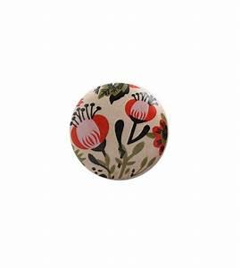 Bouton De Meuble Vintage : bouton de meuble fleur vintage en porcelaine boutons ~ Melissatoandfro.com Idées de Décoration