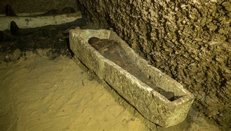 Egyptian Officials Discover 40 Ancient Mummies