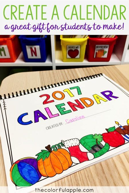 create  calendar student christmas gifts christmas