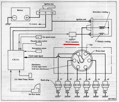 280zx Engine Diagram by 280zx Turbo Ignition Module Ignition And