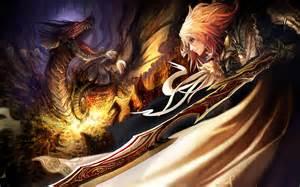 Dragon Knight Anime Girls
