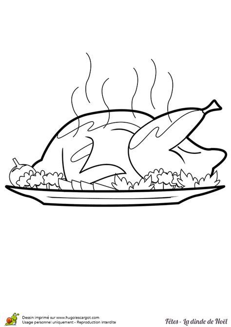 comment cuisiner une dinde de noel coloriage dinde de noel sur hugolescargot com