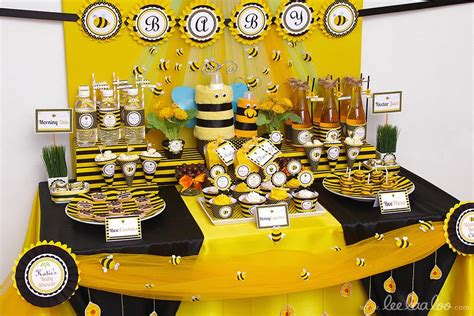 baby shower bee theme bumble bee baby shower ideas