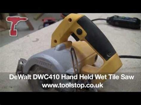 dewalt dwc hand held wet tile  youtube