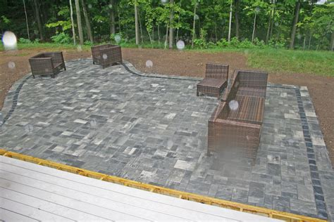 Unilock Georgetown by Artistic Landscapes 187 Patio In The