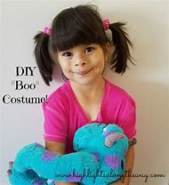 Monsters Inc Boo Costume DIY