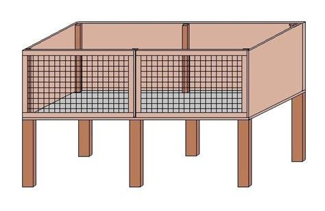bauplan für hasenstall hasenstall dekorativ selber bauen 187 www selber bauen de