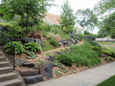 landscaping ideas for slopes landscaping ideas for slopes front yard slope solution gardening pinterest front yards