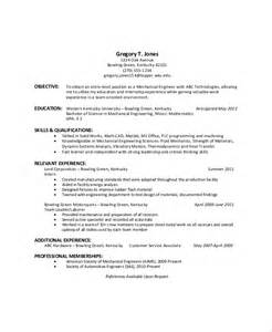Career Objective For A General Resume by Sle General Resume Objective 5 Documents In Pdf