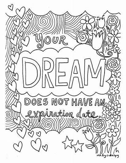Coloring Pages Fairy Inspirational Quotes Adult Printable