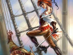 Fantasy, Art, Artwork, Artistic, Original, Pirate, Pirates, Wallpapers, Hd, Desktop, And, Mobile