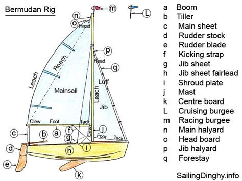 Parts Of A Catamaran Boat by Parts Of A Jib Sail Sailing Dinghy Design Complete