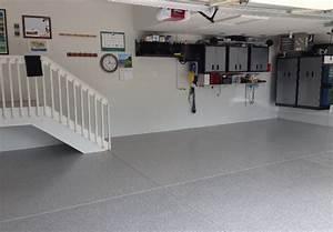 peinture epoxy garage beton montreal revetement de With peinture pour plancher de beton