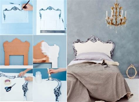 Bedroom Decorating Ideas Do It Yourself by Creative Decorating Ideas In The Bedroom Chic Headboard