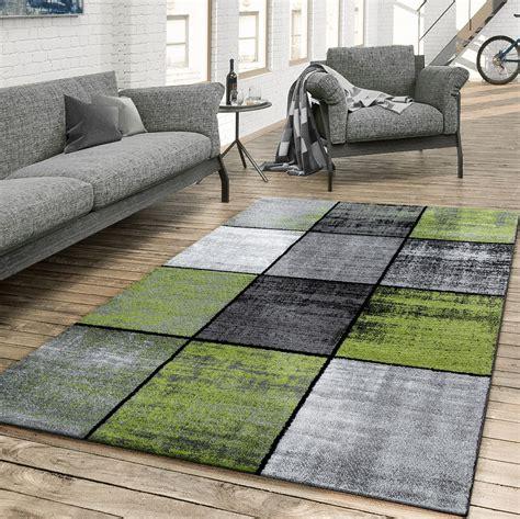 teppich wohnzimmer grun