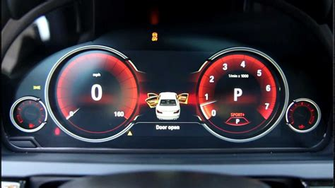 bmw digital lcd instrument gauges display